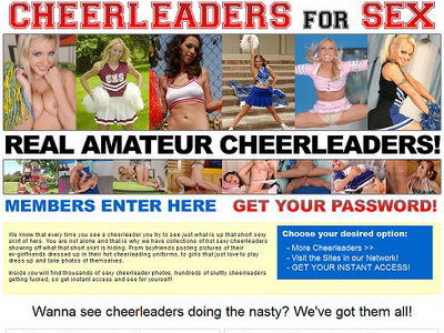 At Cheerleaders For Sex, America's finest cheerleader chicks will get more ...