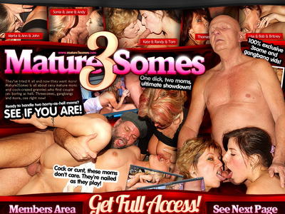 Mature 3 Somes review. Mature 3 Somes. Wanna see how two hungry moms will be ...