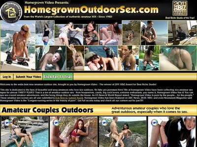 Homegrown Outdoor Sex