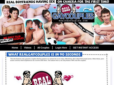Real Gay Couples